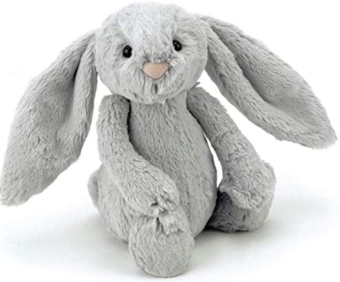plane toys for toddlers - Grey Jellycats Bunny
