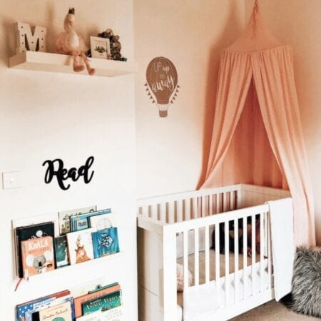 Creating a Toddler Girl's Bedroom with Stickerscape