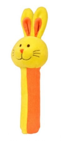 Non chocolate easter gifts Rabbit Squeakaboo Rattle