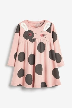 Non chocolate easter gifts kids Pink Bunny Dress