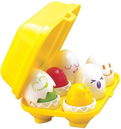 Non chocolate easter gifts kids TOMY Eggs