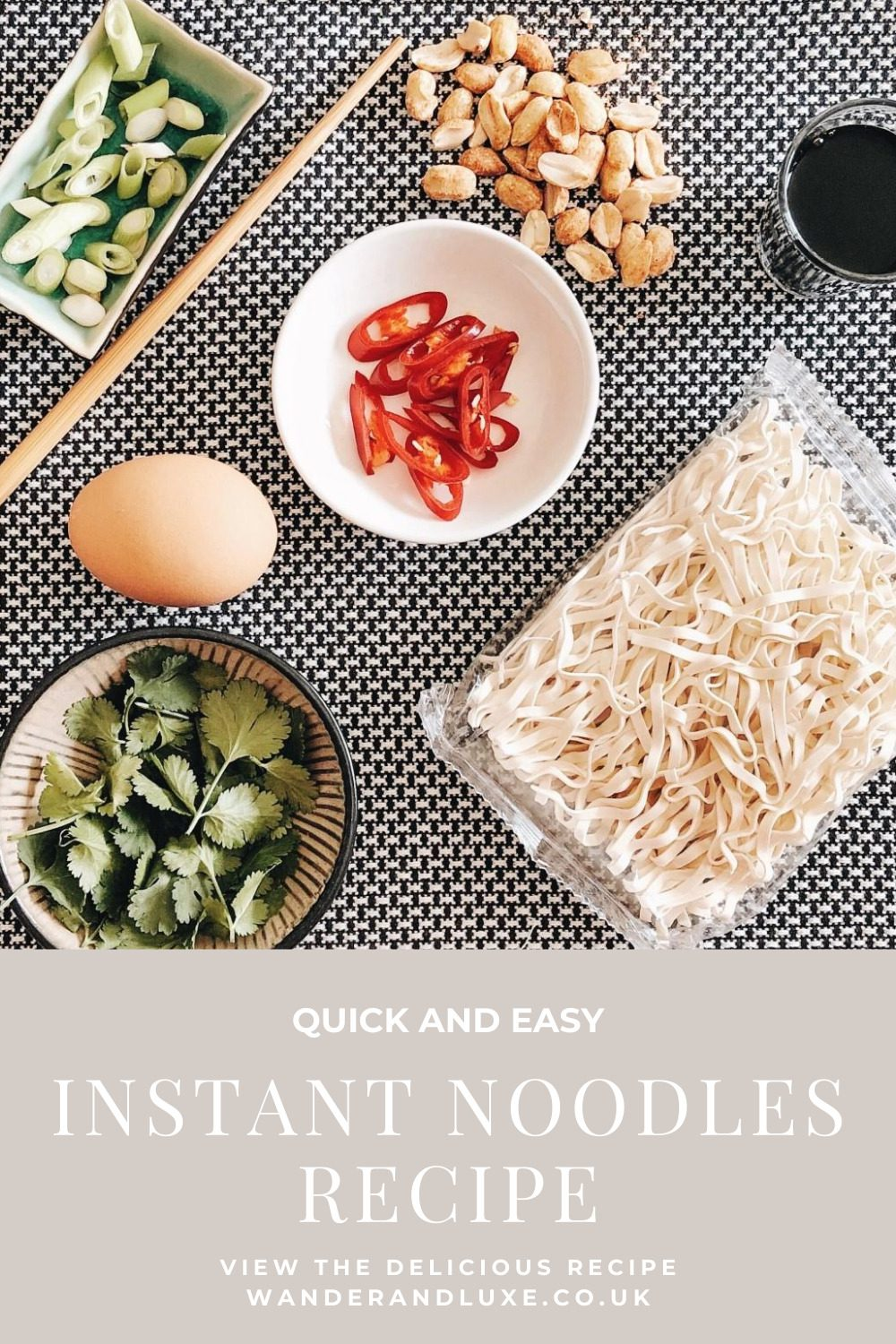 instant noodles recipe