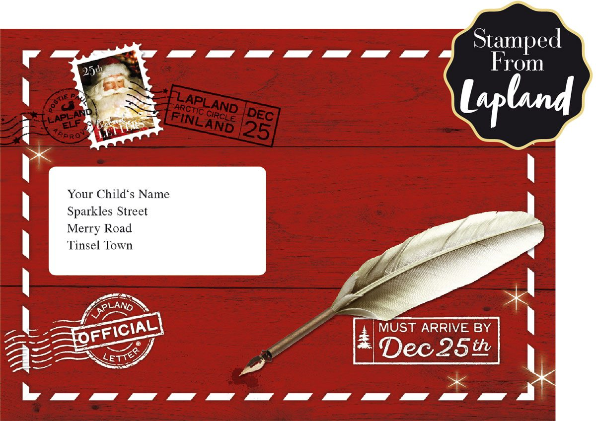 lapland letters - letters to santa - christmas traditions