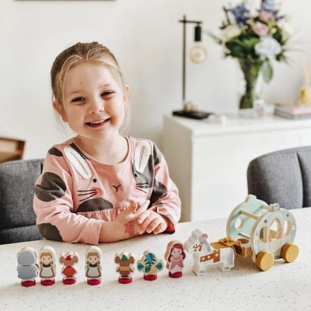 Disney Princess Wooden Toys Collection Review